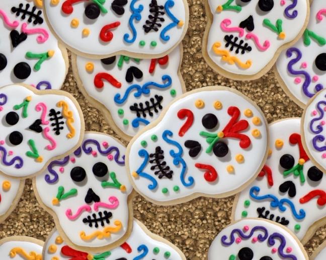 biscotti dia dos muertos
