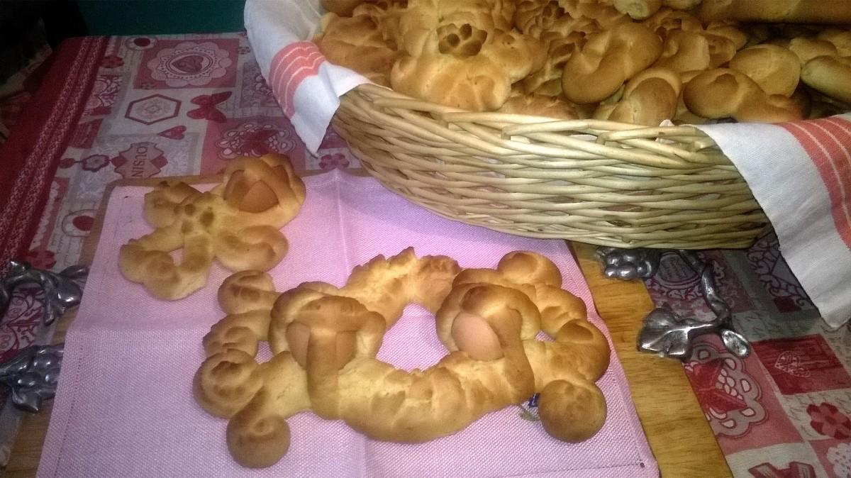 """Sguti"" di Pasqua (biscotti tradizionali calabresi)"