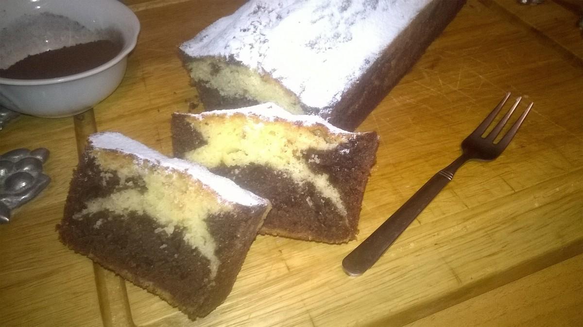 Plum cake marmorizzato 7 vasetti