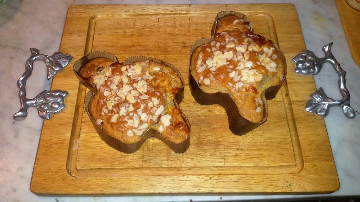 Colombine salate con prosciutto, salame e formaggio.