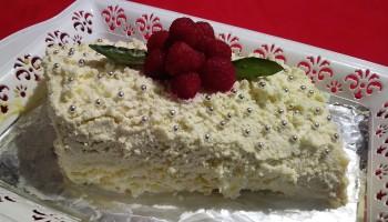 Tronchetto Bianco Di Natale.Zuccotto Al Pandoro Di Natale Kitchen Clue