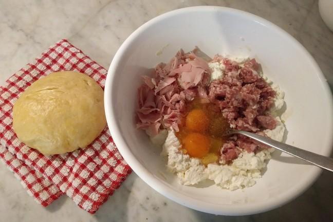 torta salata salsiccia e ricotta (2)