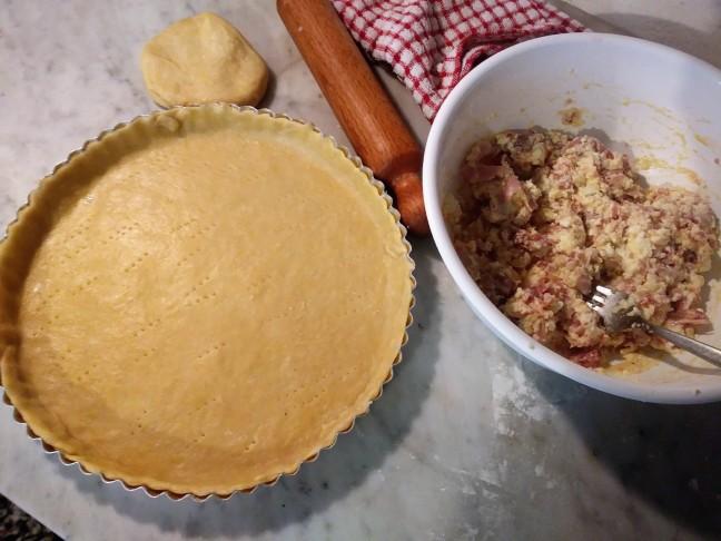 torta salata salsiccia e ricotta (3)